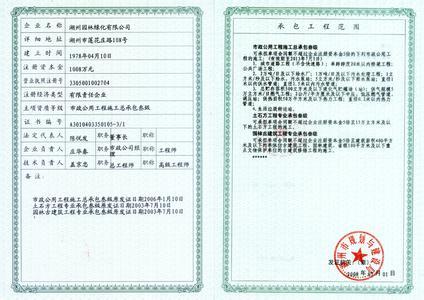 荣誉资质证书展示